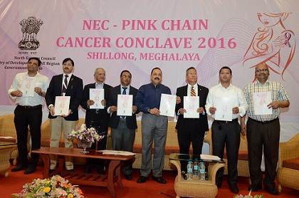 The week long NEC – Pink Chain Cancer Campaign, 2016- kick-started on Saturday
