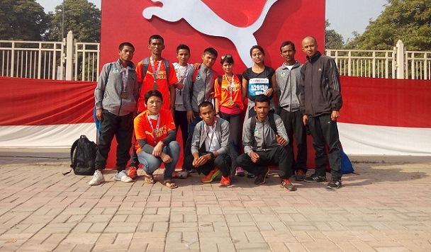 Team RUNmeghalaya bags three top spots at  the Airtel Delhi Half Marathon on Sunday